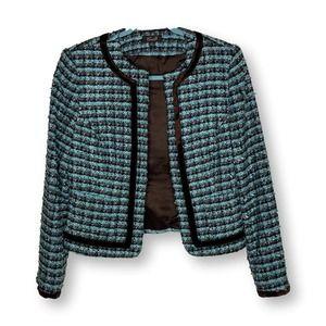 Camille La Vie Tweed Career Jacket 6